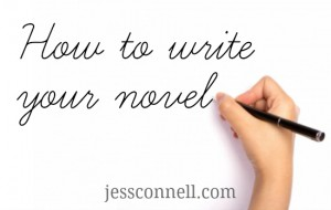 how to write novel