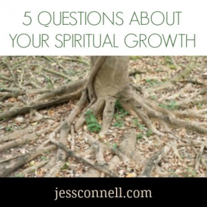 5 Questions About Your Spiritual Growth // jessconnell.com