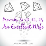 An Excellent Wife / Proverbs 31