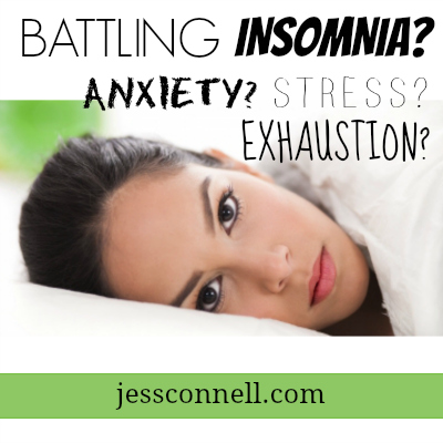 Battling Insomnia? Anxiety? Stress? Exhaustion?