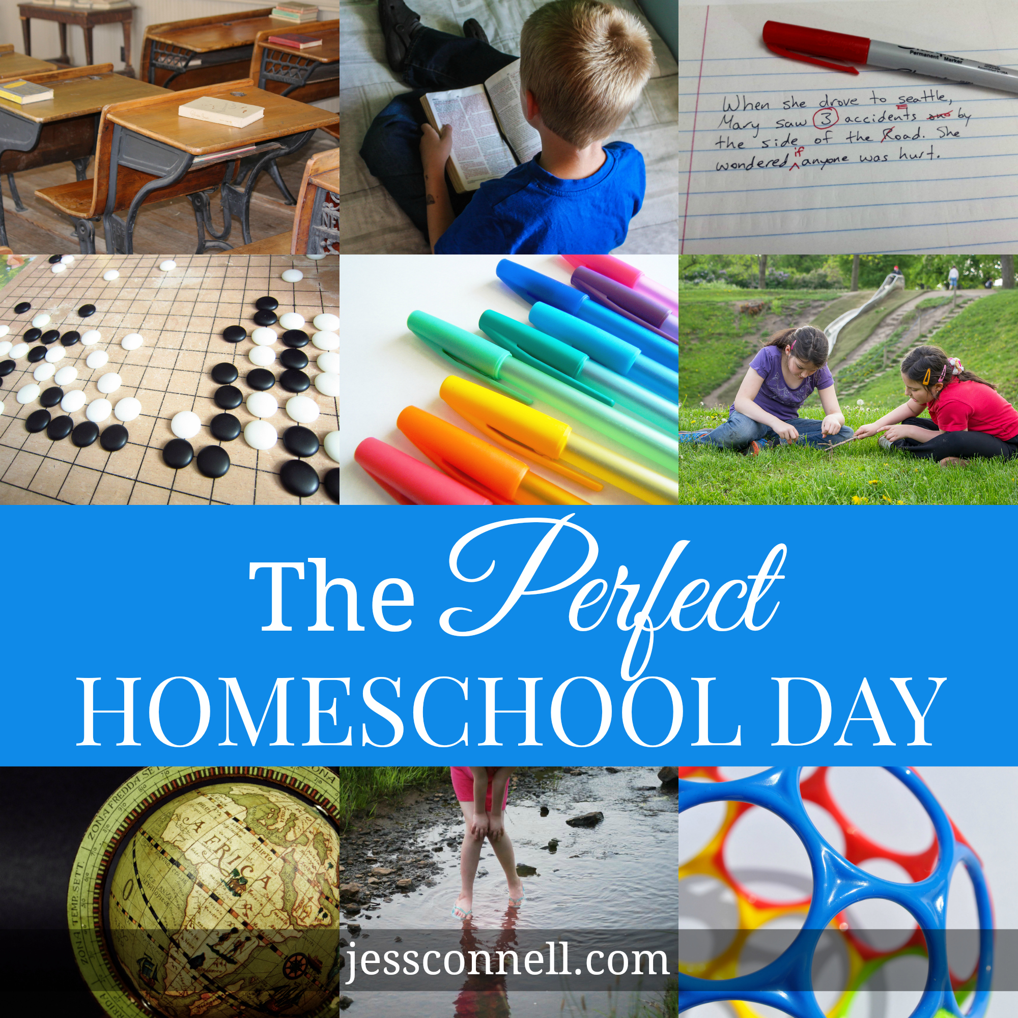 The Perfect Homeschool Day // jessconnell.com