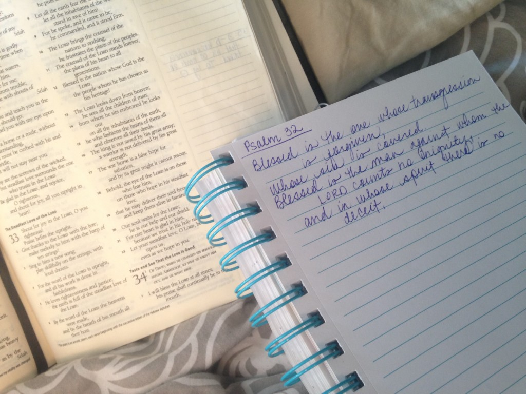 Recovering JOY In My Personal Bible Study // Psalm 32 // jessconnell.com