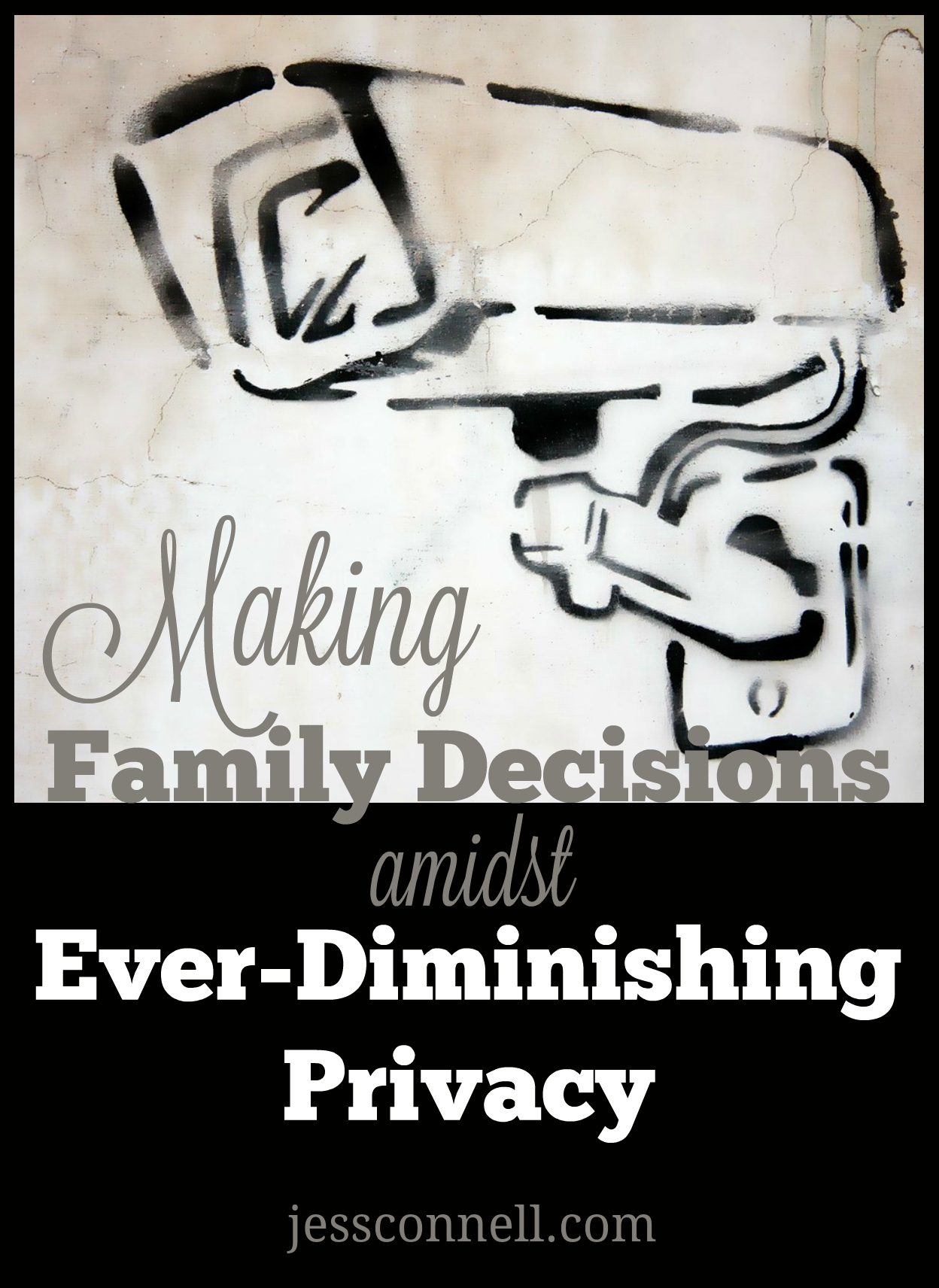 Making Family Decisions amidst Ever-Diminishing Privacy // jessconnell.com
