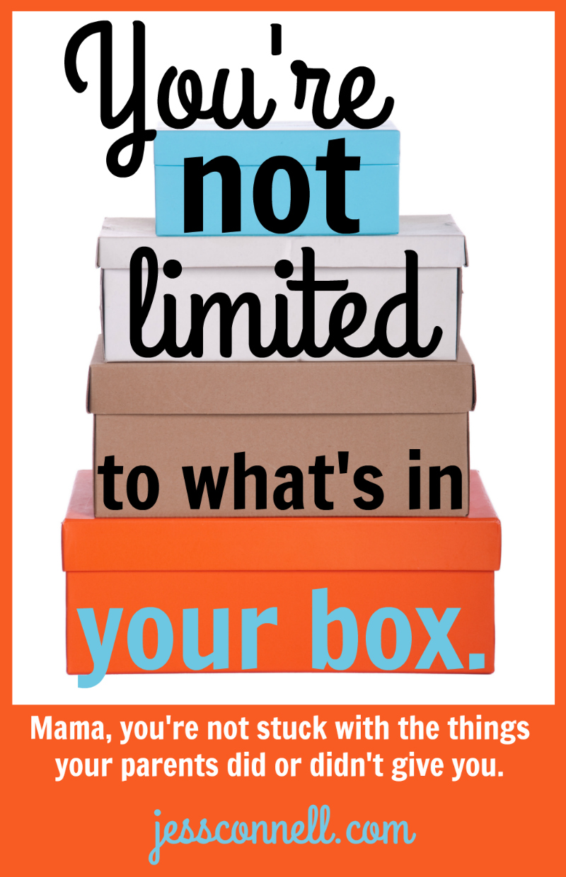You're NOT Limited to What's In Your Box // jessconnell.com