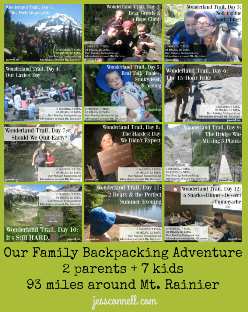 Family Backpacking Adventure // jessconnell.com