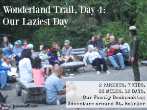 Wonderland Trail, Day 4: Our Laziest Day // jessconnell.com