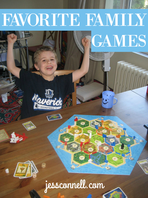 Favorite Family Games // jessconnell.com