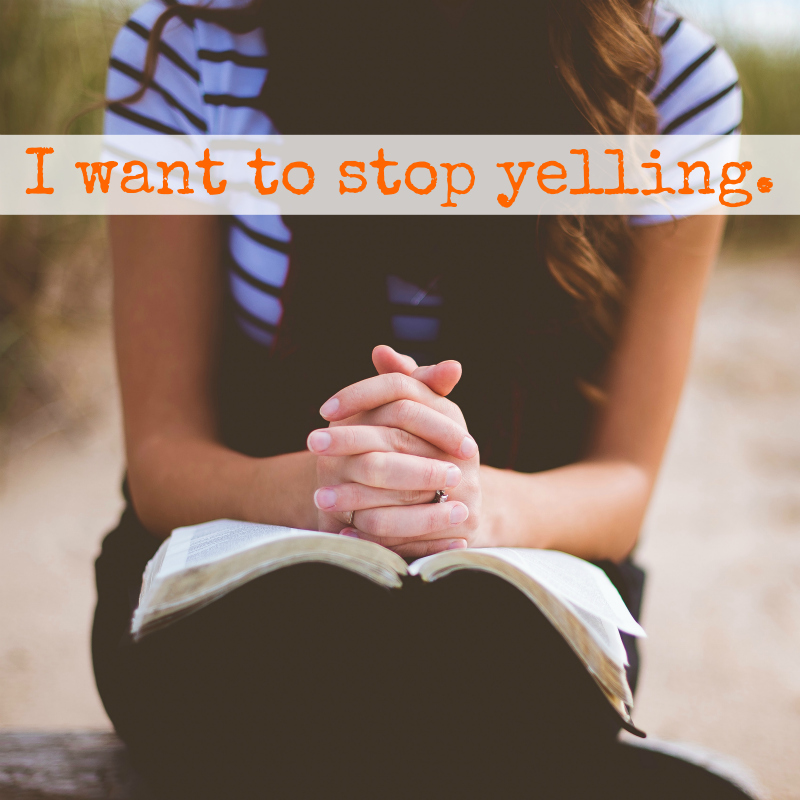 """I Want to Stop Yelling"" // jessconnell.com"